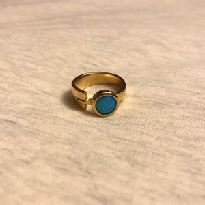 Jewelry - Gold Plated Sterling Silver Ring